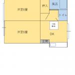 賃貸 アパート2DK 3.58万円 WiFi付