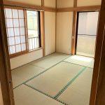 1階 玄関入って左側・道路側の和室6畳のお部屋です(内装)
